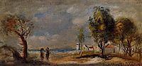 Landscape (after Corot), 1898, renoir