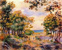 Landscape at Beaulieu, 1899, renoir