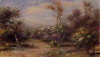 Landscape near Cagnes, renoir
