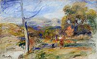 Landscape near Cagnes, c.1910, renoir