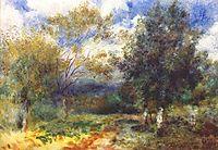 Landscape in the Sun, 1881, renoir