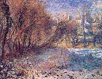 Landscape with Snow, c.1875, renoir