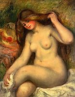 Large Bather with Crossed Legs, 1904, renoir