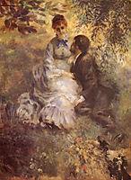 Lovers, 1875, renoir
