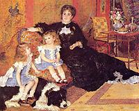 Madame Georges Charpentier and her Children, 1878, renoir