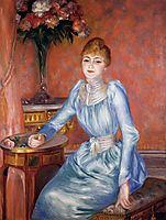 Madame Robert de Bonnieres, 1889, renoir