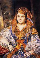 Madame Stora in Algerian Dress, 1870, renoir