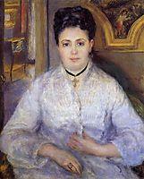 Madame Victor Chocquet, 1875, renoir
