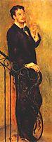 Man on a Staircase, c.1876, renoir