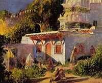 Mosque in Algiers, 1882, renoir
