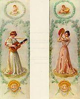 Music(twopaintings), c.1895, renoir