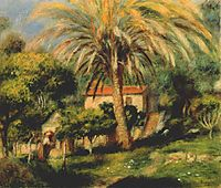 The palm tree, 1902, renoir