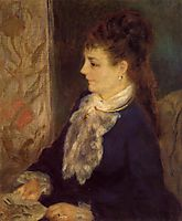 Portrait of an Anonymous Sitter, 1875, renoir