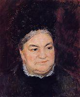 Portrait of an Old Woman (Madame le Coeur), 1878, renoir