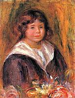 Portrait of a Boy (Jean Pascalis), 1916, renoir