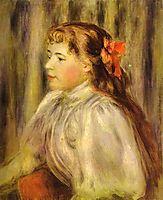 Portrait of a Girl, renoir