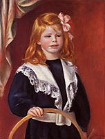Portrait of Jean Renoir (Child with a Hoop), 1898, renoir