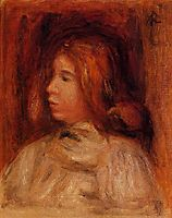 Portrait of a Young Girl, renoir