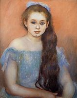 Portrait of a Young Girl, 1887, renoir