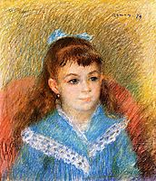 Portrait of a Young Girl (Elizabeth Maitre), 1879, renoir