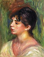Portrait of a Young Woman, renoir