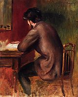 Posthumous Portrait of Frederic Bazille, c.1885, renoir
