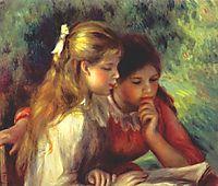 The reading, c.1890, renoir