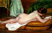 Rest, c.1896, renoir