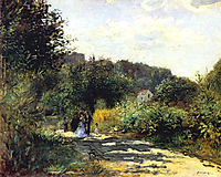 A Road in Louveciennes, c.1870, renoir