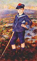 Sailor Boy (Portrait of Robert Nunes), 1883, renoir