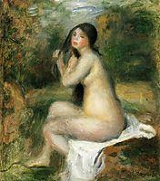 Seated Bather, renoir
