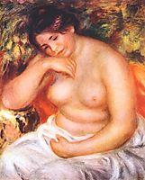 Seated bather, 1912, renoir