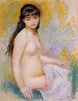 Seated Bather, c.1883, renoir