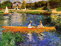 The Seine at Asnieres (The Skiff), 1879, renoir