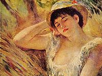 The Sleeper, 1880, renoir