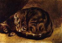 Sleeping Cat, 1862, renoir
