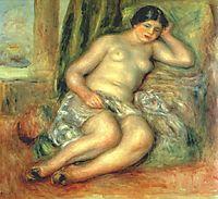 Sleeping Odalisque (Odalisque with Babouches), 1917, renoir