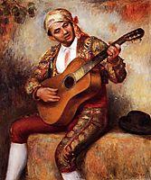 The Spanish Guitarist, 1897, renoir