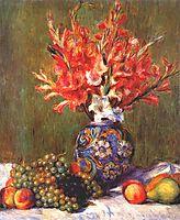 Still Life Flowers and Fruit, 1889, renoir