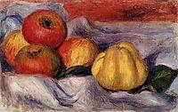 Still Life with Apples, renoir