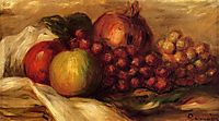 Still Life with Fruit, renoir