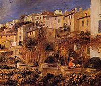 Terraces at Cagnes, 1905, renoir