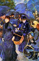 Umbrellas, 1886, renoir