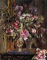 Vase of Flowers, 1871, renoir