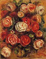 Vase of Roses, renoir