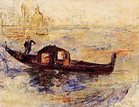 Venetian Gondola, 1881, renoir