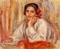 Vera Sertine Renoir, 1914, renoir