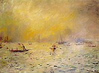 View of Venice, Fog, renoir