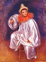 The white pierrot (Jean Renoir), 1902, renoir
