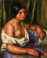 Woman in Blue, renoir